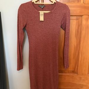 """""""Don't Ask Why"""" Long Sleeve Dress"""